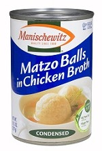 Manischewitz Matzo Balls in Clear Chicken Broth, 10.5 oz. (Case of 12)