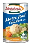 Manischewitz All Natural Matzo Ball Chicken Soup, 14 oz. (Case of 12)