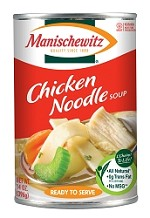 Manischewitz All Natural Chicken Noodle Soup, 14 oz. (Case of 12)