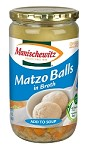 Manischewitz Matzo Balls In Broth, 24 oz. (Case of 12)