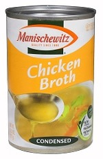 Manischewitz Chicken Broth, 10.5 oz. (Case of 12)