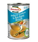 Manischewitz Reduced Sodium Chicken Broth, 14 oz. (Case of 12)