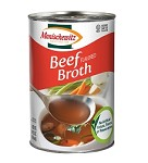 Manischewitz Beef Flavored Broth, 14 oz. (Case of 12)
