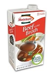 Manischewitz Beef Flavored Broth, 32 oz. (Case of 12)