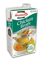 Manischewitz Chicken Broth, 32 oz. (Case of 12)