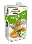 Manischewitz Vegetable Broth, 32 oz. (Case of 12)