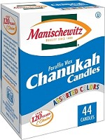 Manischewitz Chanukah Candles 44 Count