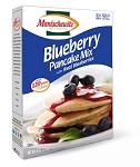 Manischewitz Blueberry Pancake Mix with Real Blueberries, 9 oz. (Case of 12)