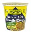 Tradition Gluten Free Brown Rice Instant Noodle Soup - Cup, 1.23 oz. (Case of 12)