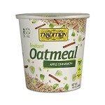 Tradition All Natural Apple Cinnamon Instant Oatmeal - Cup, 1.52 oz. (Case of 12)