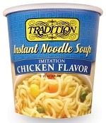 Tradition Chicken Flavor Instant Noodle Soup - Cup, 2.29 oz. (Case of 12)